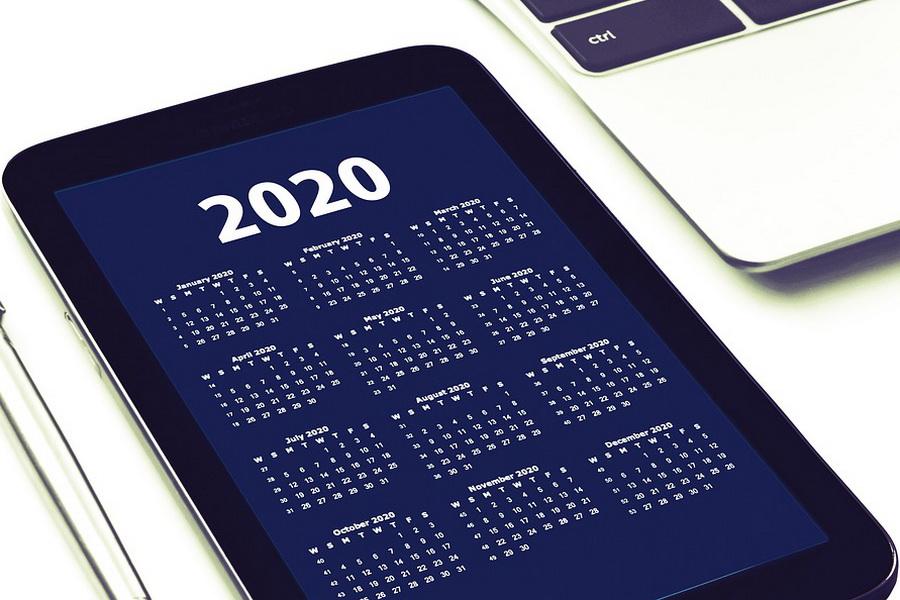 Производственный календарь на 2020 год для 5-дневной рабочей недели